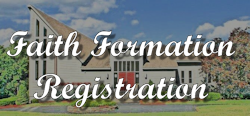 Faith Formation Registration Logo