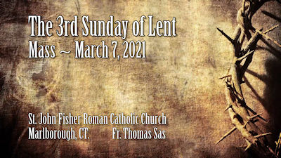3rd Sunday Lent 400
