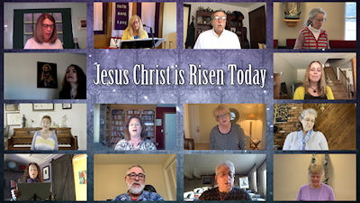 Choir Jesus Christ is Risen Today 2 400