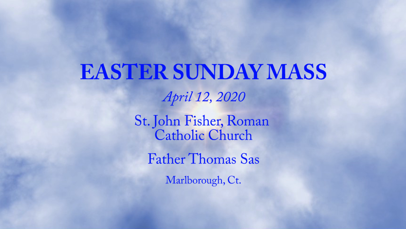 Easter Sunday Mass Photo