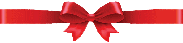 Holiday Ribbon RED