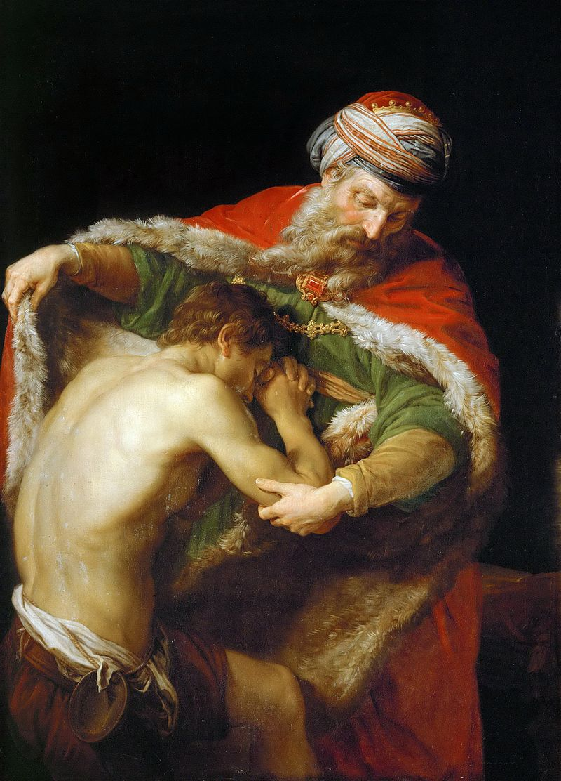 The Return of The Prodigal Son Pompeo Batoni 1773